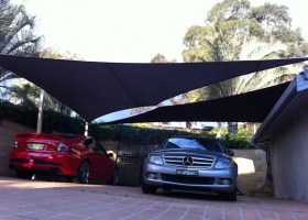 Alfords point double carport