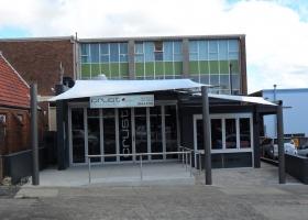 White Shop front